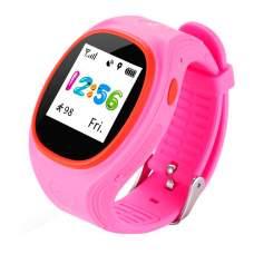 Смарт часы ERGO J010 GPS Pink
