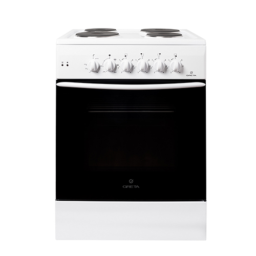 Плита газовая  GRETA 600-Э (07) Белая