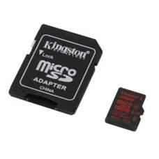 Карта памяти Kingston 32 GB microSDHC class 10 UHS-I U3 + SD Adapter SDCA3/32GB
