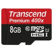 Карта памяти Transcend 8 GB SDHC class 10 TS8GUSDCU1