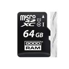 Карта памяти microSD GOODRAM 64Gb (10)+Ad