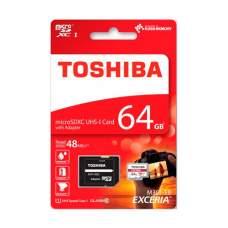 Карта памяти microSD TOSHIBA 64Gb (UHS-1 U3)+Ad