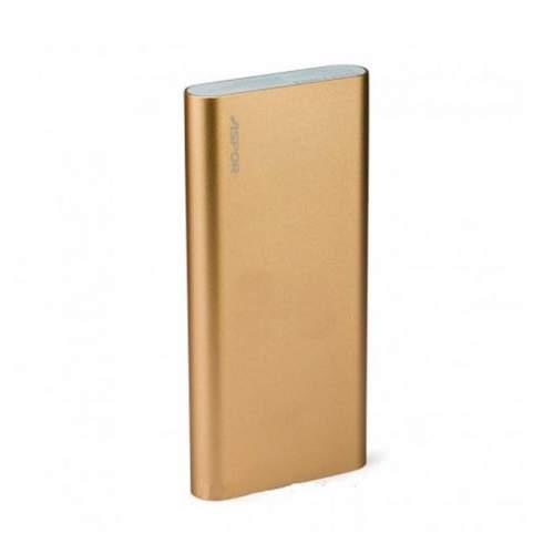 Power Bank ASPOR Metal A383 10000mAh Gold