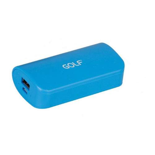 Power Bank GOLF GF210 5200mAh Blue