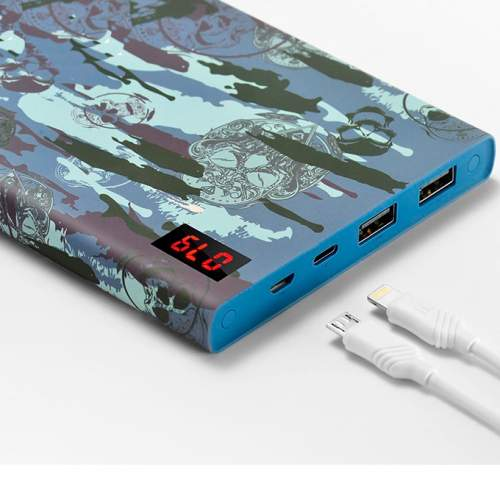 Power Bank HOCO B17C 20000mAh SKULL CAMOUFLAGE
