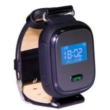 Детские часы-телефон с GPS трекером GOGPS ME K10 Черные
