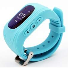 Детские часы-телефон с GPS трекером GOGPS ME K50 Бирюзовый