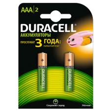 Аккумуляторы DURACELL HR03 750 mAh