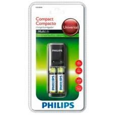 Зарядное устройство PHILIPS SCB1280NB+2AA 2450 mAh