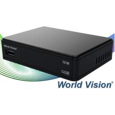 ТВ ресивер DVB-T2 WORLD VISION T57M