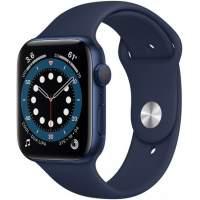 APPLE Watch 6 40mm Blue Aluminum Case with Deep Navy Sport Band