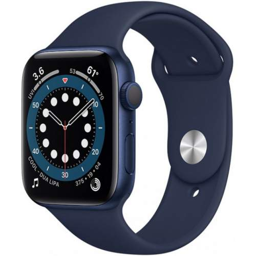 APPLE Watch 6 40mm Blue Aluminum Case with Deep Navy Sport Band