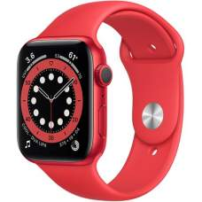 APPLE Watch 6 44mm PRODUCT (RED) Aluminum Case with Red Sport Band