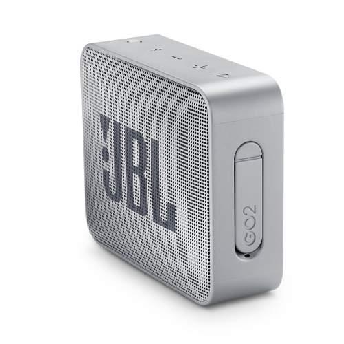 Портативная акустическая система JBL GO 2 Grey (JBLGO2GRY)