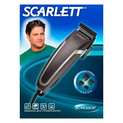 Машинка для стрижки SCARLETT SC-HC63C07