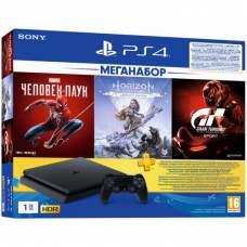Игровая консоль SONY PS4  1Tb + 3 игры (9391401)