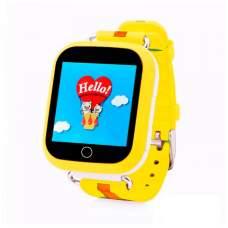 Смарт часы SMART BABY Q100s GPS Yellow