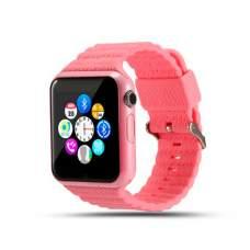 Смарт часы SMART BABY V7K GPS Pink