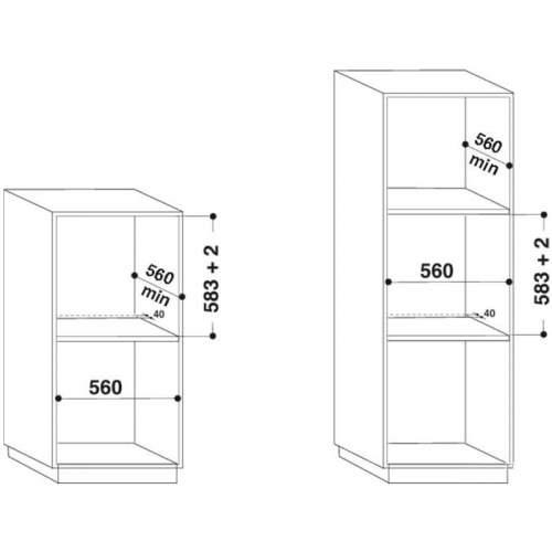Встроенный духовой шкаф INDESIT IFW 6544 IX
