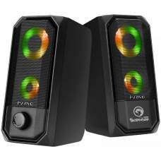Акустична система 2.0 MARVO SG-265 Multi-LED