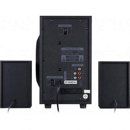 Акустическая система 2.1GEMIX SB-80BT Black