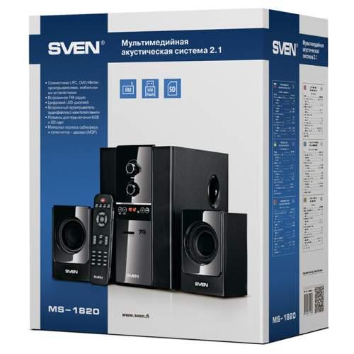 Акустическая система 2.1 SVEN MS-1820 black