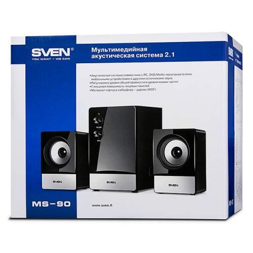 Акустическая система 2.1 SVEN MS-90 Black