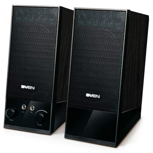 Акустическая система 2.0 SVEN SPS-604 Black
