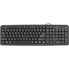 Клавіатура USB DEFENDER #1 HB-420 Black