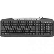 Клавіатура USB DEFENDER #1 HM-830 Black