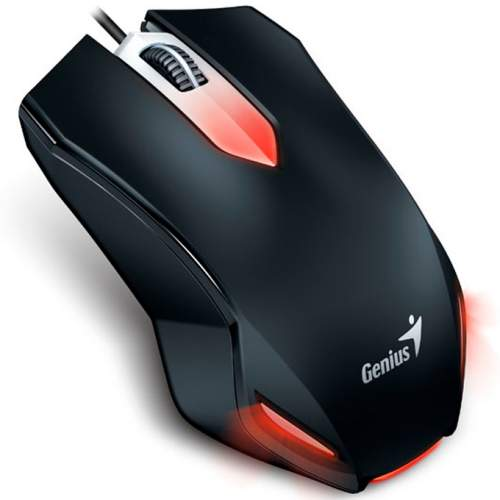Мышка GENIUS X-G200 USB Gaming Black