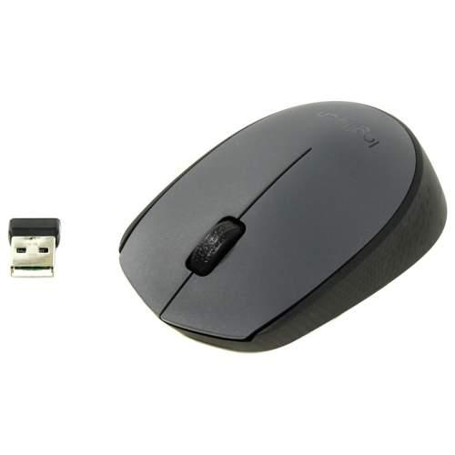 Мышка Logitech Cordless M170 Grey
