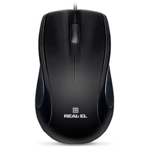 Мышка REAL-EL RM-250 USB Black