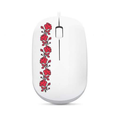 Мышка REAL-EL RM-777 GLORY USB White