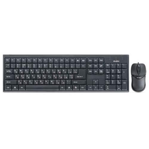 Клавиатура SVEN 310 Combo Black USB