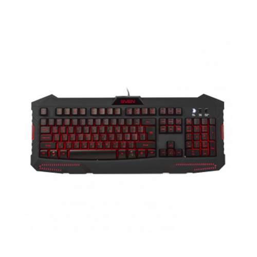 Клавиатура SVEN 9100 Challenge Black USB