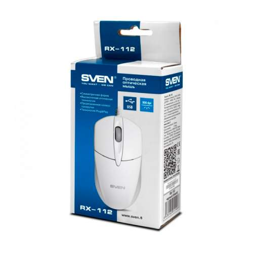 Мышка SVEN RX-112 White