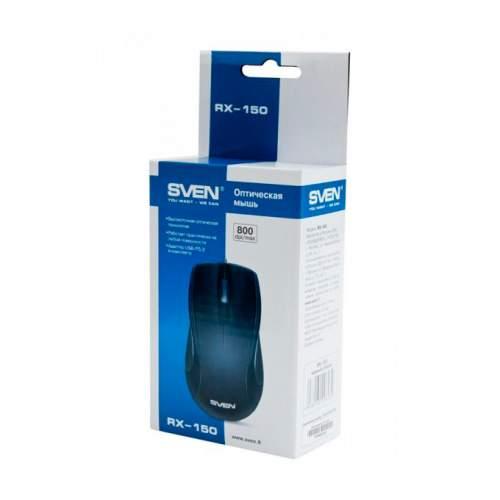 Мышка SVEN RX-150 Black