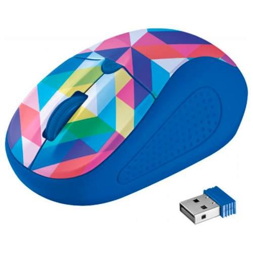 Мышка TRUST Primo 21480 Blue Geometry