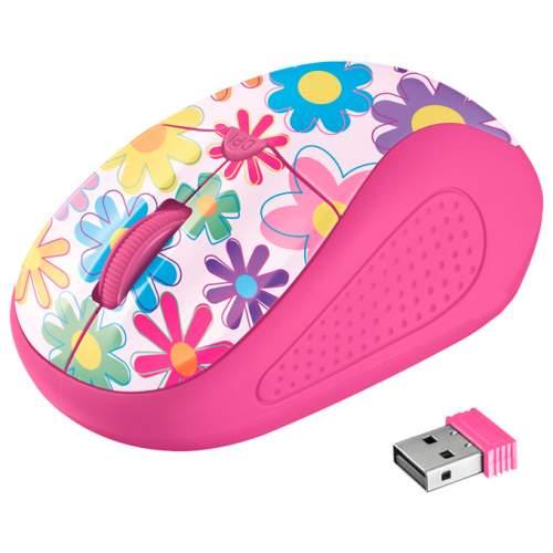 Мышка TRUST Primo 21481 Pink Flowers