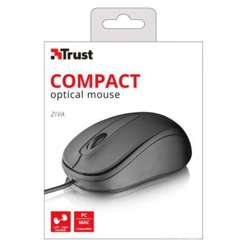 Мышка TRUST Ziva Optical 21508 Black