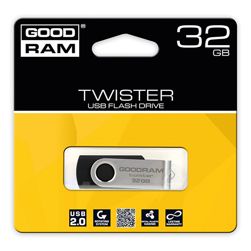 Флешка USB2.0 GOODRAM Twister 32GB