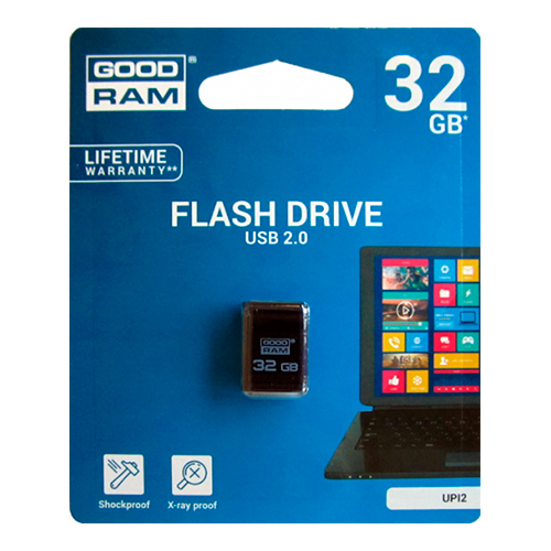 Флешка USB2.0 GOODRAM UPI2 32Gb Black