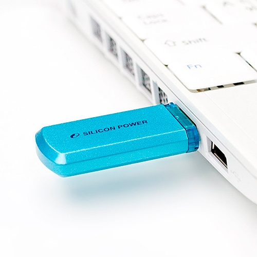Флешка USB2.0 SiliconPower H101 32Gb Blue