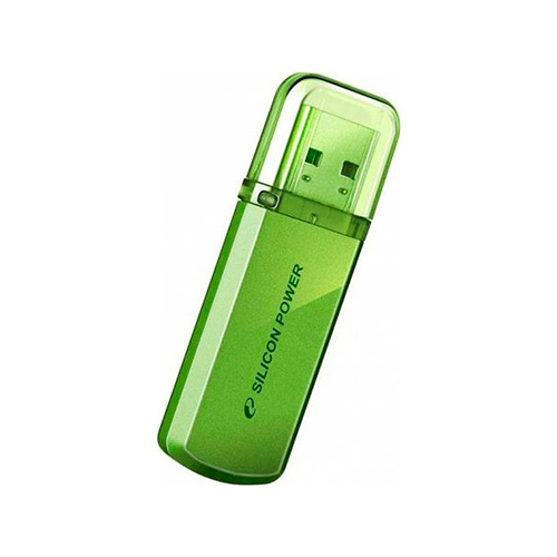Флешка USB2.0 SiliconPower H101 32Gb Green