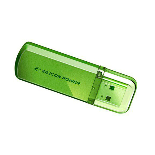 Флешка USB2.0 SiliconPower H101 16Gb Green