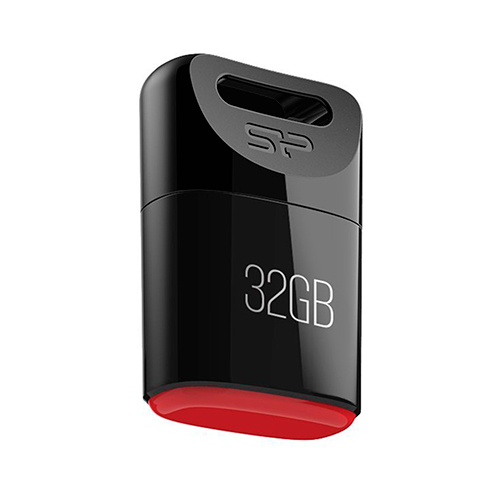 Флешка USB2.0 SiliconPower T06 32Gb Black