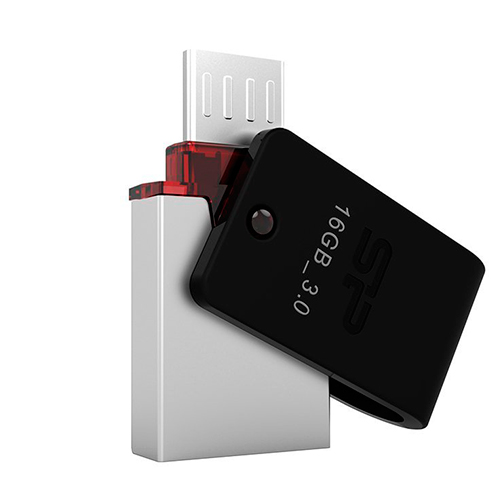 Флешка USB3.0 SiliconPower X31 OTG 16Gb