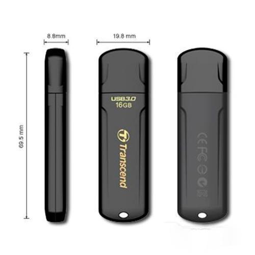 Флешка USB3.0 TRANSCEND 700 16GB Black