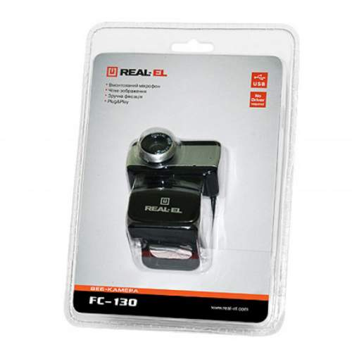 Веб-камера REAL-EL FC-130